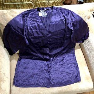 Lane Bryant New Purple V Neck Nightgown